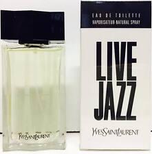 YSL Live Jazz EDT 50ml Spray New & Rare