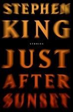 JUST AFTER SUNSET by Stephen King (2008, Hardcover)