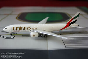 Phoenix Model Emirates Sky Cargo Boeing 777-200LRF Diecast Model 1:400