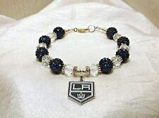 Los Angeles Kings~LA~Bracelet~Jewelry~Logo Charm~Dustin Brown~Birthday Gift