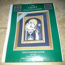 Dimensionsthe Craft Collection cross stitch chart tempo campionatore Orologio-religiosa