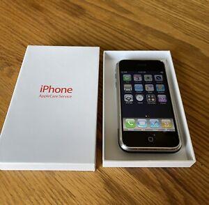 "Apple iPhone 1st Generation 2G-8GB, Thin White Apple Care Box ""RARE iOS 1.1.3"""