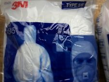 4 X 3M™  Protective Coveralls 4545 Suits EXTRA LARGE Like TYVEK