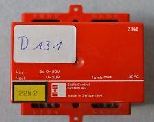 SCS Stäfa Control System AG - Klima Kontroller Z 142  (D.131)
