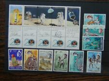 Turks & Caicos 1967 to 1/6 (1.5d rust marks) 1990 Landing on Moon LMM