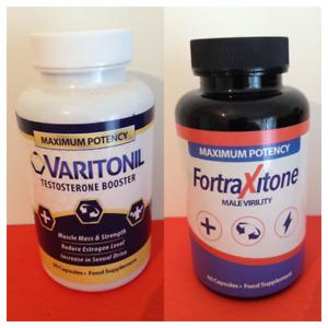 Varitonil Maximum performance testo 90 Caps & FortraXitone Maximus (60 Capsules)