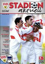 BL 2002/03 VfB Stuttgart - Hertha BSC, 01.02.2003 - Porträt Steffen Dangelmayr
