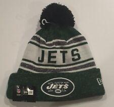 New Era New York Jets Cuffed Winter Hat Beanie Gang Green Broadway Joe NFL