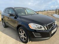 Volvo XC60 2.4 D5 SE Lux AWD Automatic 2011 Black Leather Sat Nav FULL HISTORY