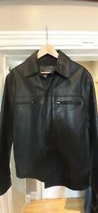 Ciro Citterio Italian leather Jacket