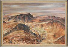 KENNETH JACK (1924-2006) RARE huge oil Wynne Prize Finalist Flinders Ranges 1970