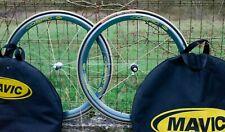 ♦ Roues de velo Mavic Cosmic PRO Vintage Clincher Bike wheels set shimano  ♦