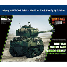 Meng WWT-008 British Medium Tank Firefly Q Edition Plastic Assembly Model Kit