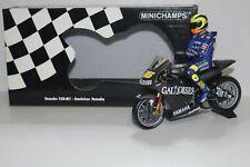 1:12 Rossi Yamaha YZR-M1 04 Pre-Saison Test Umbau Gauloises und Figur