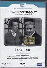 2 Dvd Sceneggiati Rai **I DEMONI** completa nuovo 1972