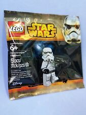 LEGO STAR WARS STORMTROOPER SERGEANT POLYBAG RARE 5002938 NEW