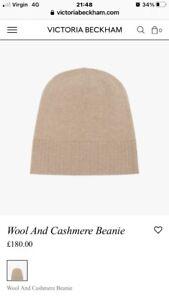Victoria Beckham Wool/ Cashmere Beanie Hat