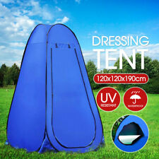 Portable Pop Up Outdoor Camping Tent Toilet Shower Room w/ Zipped Window