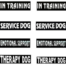 Patches Service Dog In Training Label Tag Dog Harness Vest Emotional Support