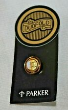 Parker Pen Button Hole or Pin Badge - Duofold