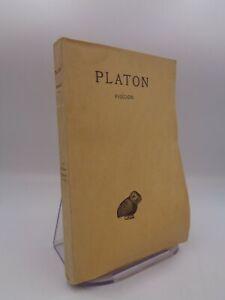 PLATON / PHEDON  Budé 1934