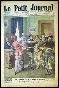 Le Petit Journal N°1122 du  19/05/1912 - Les Bandits a l'instruction