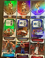 2019-20 Panini Certified Basketball Inserts Gold Team / Banner (Pick Your Card)