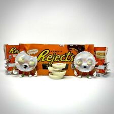 Martian Toys White Out Madness Rejects Designer Vinyl Toy Reese's Peanut Butter