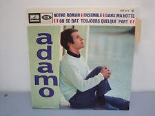 Vinyle 45 Tours - Adamo - Notre Roman