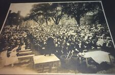 Rare Antique American Yale University Graduation Smoking Tradition Cabinet Photo