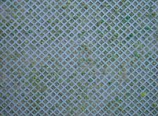 Faller Ho Scale 1/87 Building Material Sheet - Lattice With Grass (1) | 170625