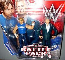 SHANE McMAHON + DEAN AMBROSE WWE Mattel Battle 2 Packs Series 46 Figures DMG PKG