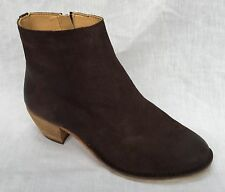Clarks Zip Block Heel Suede Boots for Women