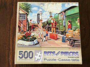 "The Train Driver 18"" x 24""  500 piece  Bits & Pieces  PUZZLE no. 47288"