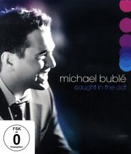"MICHAEL BUBLE ""CAUGHT IN THE ACT"" BLU RAY NEW+"