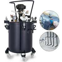 20L Spray Paint Pressure Pot Agitator Wood Coating Powered Heavy Duty Commercial