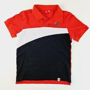 DUCATI Corse Mens Polo Shirt Size Small
