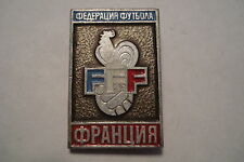 Soviet Soccer Futbol FIFA founders FFF French Football Federation Badge Pin