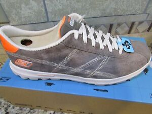 NEW SKECHERS ON THE GO SUEDE LEATHER SNEAKER SHOES WOMENS 9.5 LEATHER