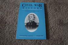 CIVIL WAR HISTORY Dec 1992 JEFFERSON DAVIS Vgc Military