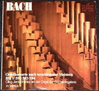 BACH - Orgelkonzerte versch. Meister - LP Schallplatte - Sammlerstück selten rar