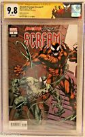 Absolute Carnage: Scream #1 CGC 9.8 3710687013 signed Mark Bagley Special Label
