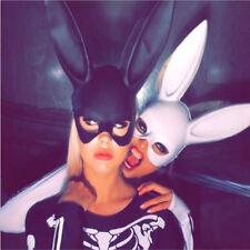 Cute Sexy Rabbit Ears Women Girls Mask Bunny Long Ears Mask Halloween