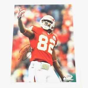 Dwayne Bowe signed 11x14 photo PSA/DNA Kansas City Chiefs Autographed