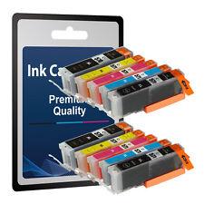 10 Ink Cartridges for Canon Pixma MG5750 MG5751 MG5752 MG5753 MG6850 MG6851