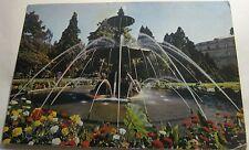 Switzerland Geneve La Fontaine du Jardin Anglais 553 Iris - posted 1976