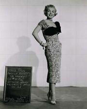 "MARILYN MONROE - 10"" x 8"" b/w Photo Wardrobe Test AS YOUNG AS YOU FEEL 1950"