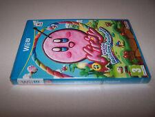 Kirby et l'arc-en-ciel Paintbrush-Nintendo Wii-U-UK PAL-NEW FACTORY SEALED