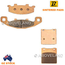 FRONT REAR Sintered Brake Pads for HYOSUNG Comet 250 2002