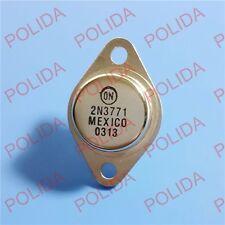 5PCS Audio Power AMPS Transistor ON/MOTOROLA TO-3 2N3771 2N3771G